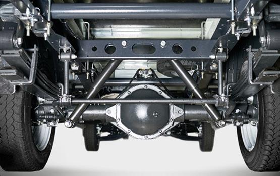 Усиленная задняя подвеска с нижним подрессорником ГАЗель Next ЦМФ 4,6 тонн