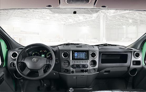 Панель приборов в автомобилях ГАЗон NEXT
