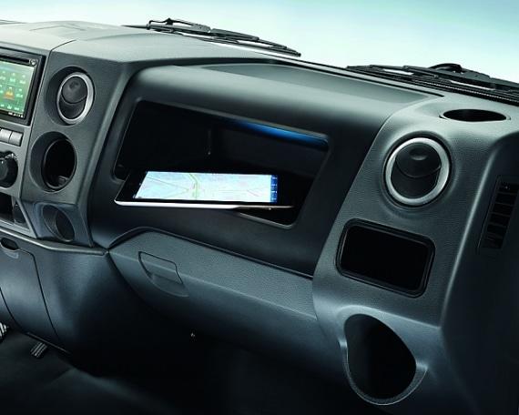 Приборная панель в автомобилях ГАЗель Next борт