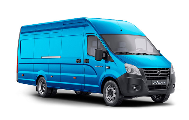 ГАЗель NEXT ЦМФ 4,6 тонны 15,5м³ 3 места, синяя