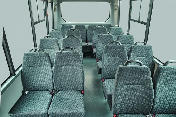 Пассажирский отсек ГАЗель Next Автобус
