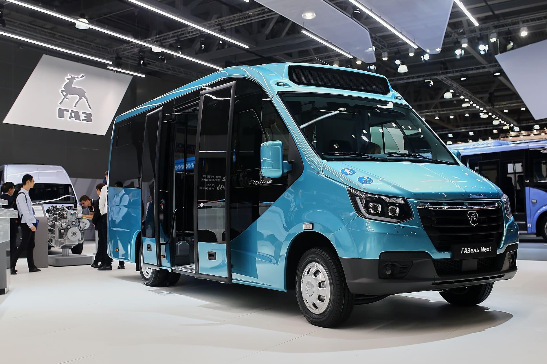 Новый микроавтобус ГАЗель NEXT-3